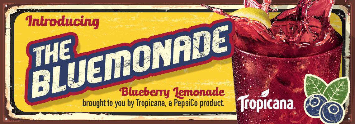 The Bluemonade Blueberry Lemonade